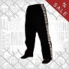 FIGHT-FIT - Baumwoll Hosen / Schwarz
