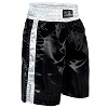 FIGHT-FIT - Box Shorts Long / Schwarz-Weiss / Large