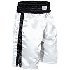 FIGHT-FIT - Box Shorts Long / Weiss-Schwarz / Medium