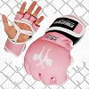 FIGHTERS - MMA Handschuhe / Elite / Pink / Small