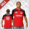 Venum - Polo Shirt / Jose Aldo Junior Signature / Rot-Schwarz