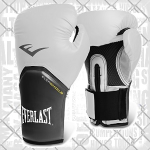 Everlast - Boxhandschuhe / Elite Pro Style / Weiss / 10 oz