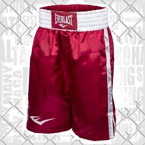 Everlast - Pro Shorts / Rot-Weiss / Small
