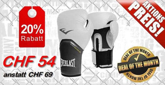 EVERLAST - Boxhandschuhe / Elite Pro Style / Weiss